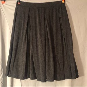 LulaRoe Madison Solid Charcoal Skirt Size M